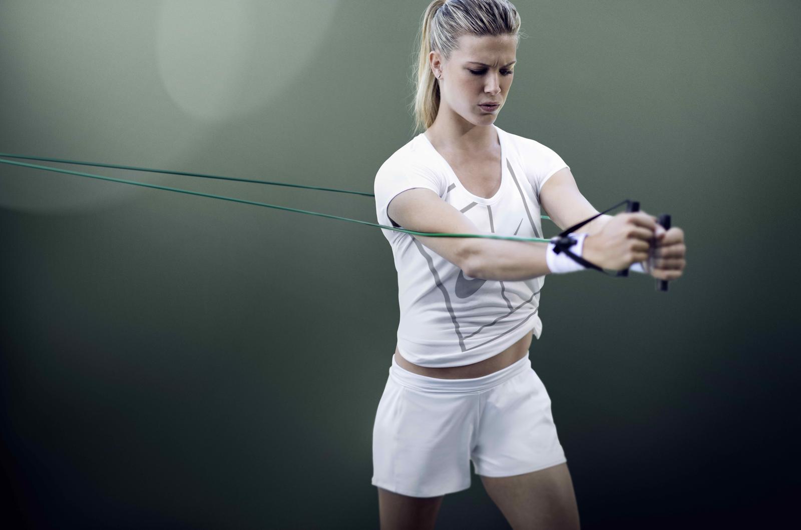Eugénie Bouchar tennis entrainement