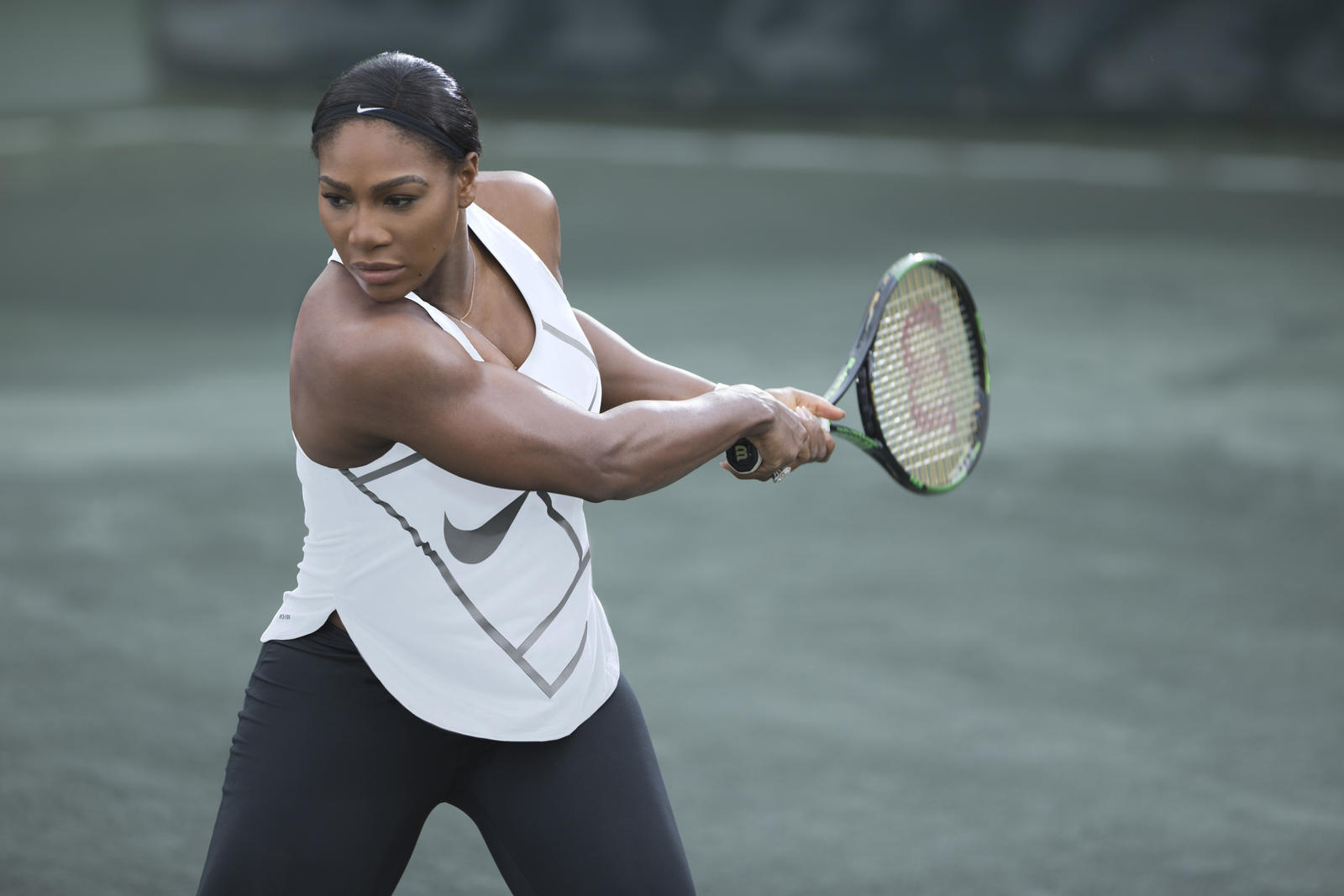 Serena Williams Wimbledon Nike Training