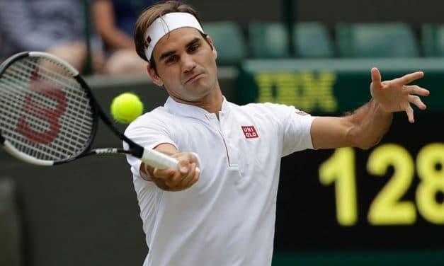 La (vraie) raquette de Roger Federer